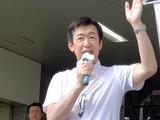 8月15日埼玉県知事選挙・青島健太候補2