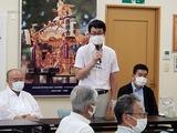 7月11日桜区の栄和・中島・道場・西堀の神幸祭