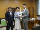 6月6日山形県の吉村美栄子知事・志田議長から地方創生について要望
