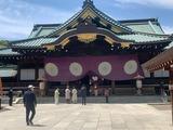 4月22日靖国神社春季例大祭2