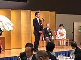 10月27日戸張善夫氏叙勲祝賀会
