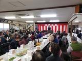 1月18日辻白寿会と鹿手袋1丁目自治会の新年会3