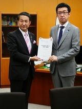 4月9日鳥取県・平井知事,子ども子育て関連の要望