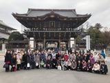 2月5日戸田良彩会の新春恒例行事・成田山新勝寺初詣