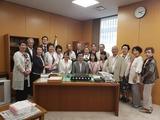 7月2日桜区田中良生後援会・西堀支部表敬訪問