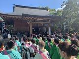 10月7日和楽備神社の祭禮2