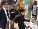 4月14日IT大手企業アリババ・運営する小売店新活館を視察