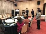 2月10日戸田市自衛隊家族会の新年会2