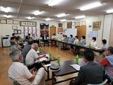 7月12日自民党桜区西堀地区支部の役員会議2