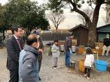 1月12日桜区下大久保自治会の新年餅つき大会
