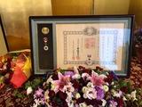 11月4日石井民雄・元戸田市議会議長・旭日小綬章5