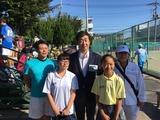 10月1日蕨市軟式庭球連盟主催による市民ソフトテニス大会