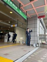 5月31日武蔵浦和駅頭