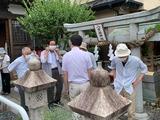 7月11日桜区の栄和・中島・道場・西堀の神幸祭8