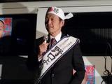 4月6日さいたま市桜区・南区・戸田市・・宣車遊説に街頭演説会8