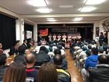 2月10日戸田市少年野球連盟・新曽北ドルフィンズ卒団式