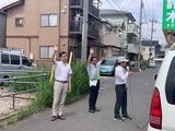 6月1日鈴木なおし候補の宣車、遊説4