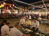 8月8日桜区の田島観音納涼盆踊り大会2