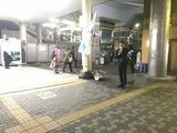 10月5日南浦和東口駅頭