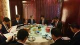4月15日中国でビジネス展開・日系金融機関の方々と意見交換