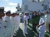3月21日海上保安庁からの供与巡視船披露式15
