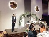 5月12日桶本興業・桶本毅社長の長男・佳樹さん結婚披露宴