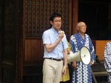 7月8日辻熊野神社と文蔵神明社の夏祭り