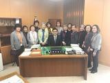 3月13日蕨市社会福祉協議会・愛の給食表敬訪問
