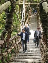 5月15日祖谷のかずら橋2