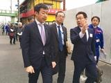 3月13日さいたま市桜区・桜田地区通学路点検8