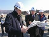 3月5日陸前高田市内の視察5