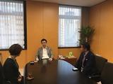 9月3日直井こと江社長他・副大臣表敬2