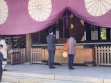 4月22日靖国神社春季例大祭