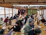 1月13日桜区中島第一&第二自治会合同自治会の新年会2