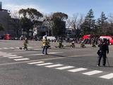 1月13日戸田市の消防出初式5