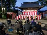 11月3日西堀氷川神社神楽殿祭り2