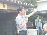 8月5日桜区後援会長である内木酒造・酒蔵音楽祭