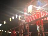 8月9日須賀町町内会の盆踊り大会