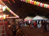 8月8日戸田市は、中町会・川岸町会の納涼大会2
