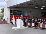 1月12日蕨市消防出初式