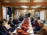 1月16日桜区町谷自治会連合会の新年会2