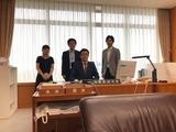 9月13日金融庁副大臣室・幹部の方々からご挨拶4