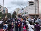 7月14日戸田市沖内町会の津島神社祭礼・神輿渡御
