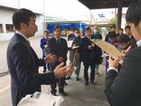 3月13日さいたま市桜区・桜田地区通学路点検5