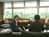 5月24日埼玉建設新聞のインタビュー取材