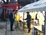 3月9日丁張稲荷・塚越稲荷神社の初午祭宵宮2
