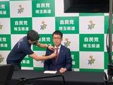 10月16日自民党埼玉県連・NHK政見放送の撮影