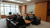 11月7日日本証券業協会・投資信託協会表敬訪問2