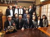 2月11日田中良生後援会の戸田市・新春の集い青年部反省会