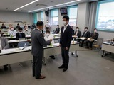 9月8日建設埼玉「推薦決定書交付式」